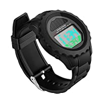 Digital Watch, BicycleStore Waterproof Kids Sports Watches Resin Wrist Watch LED Screen for Kids, Men, Women, Boys, Girls, Outdoor Indoor