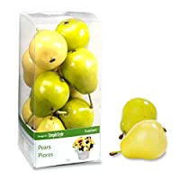 Design It Simple Decorative Fruit 9/Pkg-Yellow and Green Pears (並行輸入品)