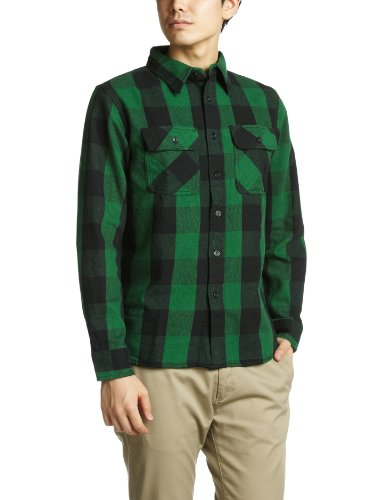 FLANNEL BROCK CHECK SHIRTS 6115071 アヴィレックス