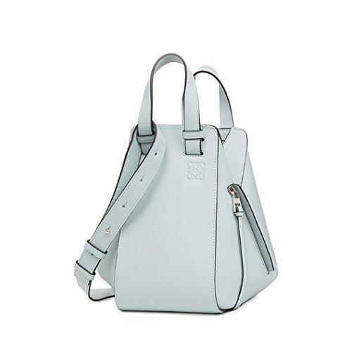LOEWE(ロエベ) Hammock Small Bag 3WAY トートバッグ (aqua) [並行輸入品]