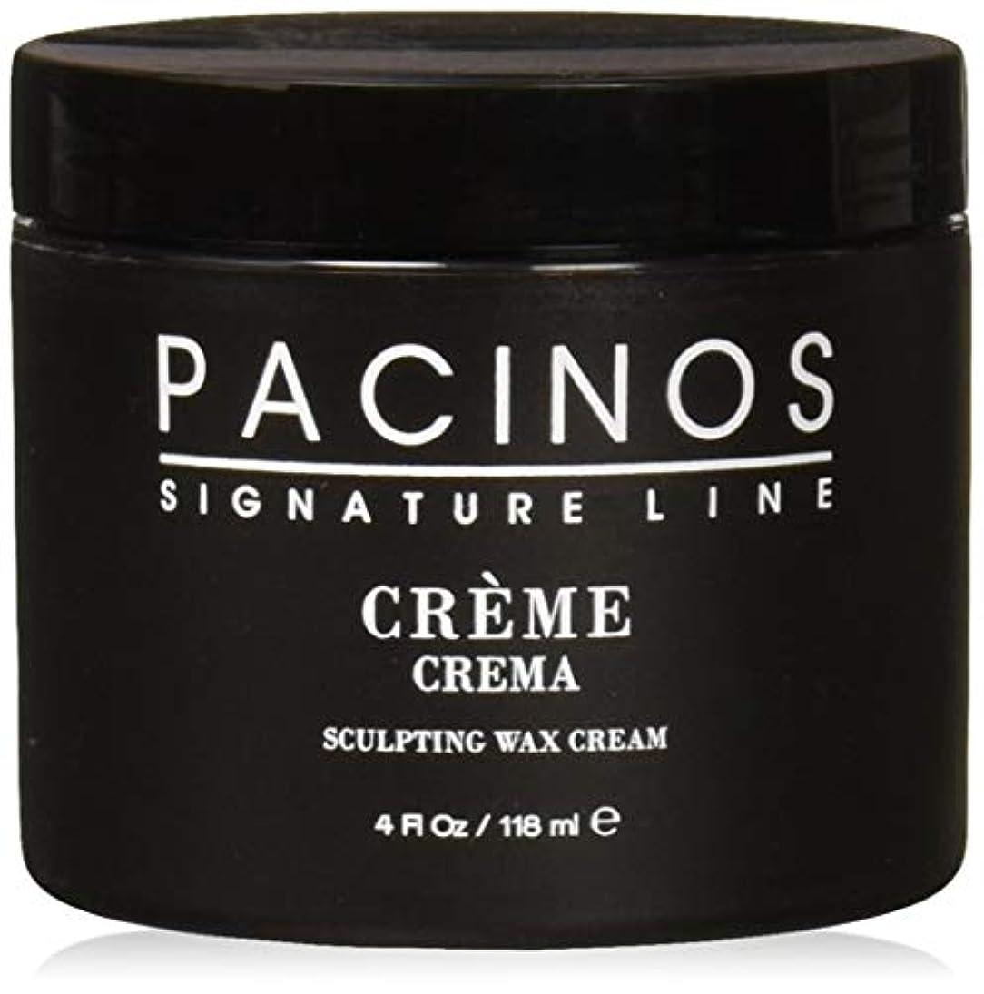 ウェイトレス目に見える霧深いPacinos Grooming Elegance Creme, Sculpting Wax Cream 4oz by Pacinos [並行輸入品]