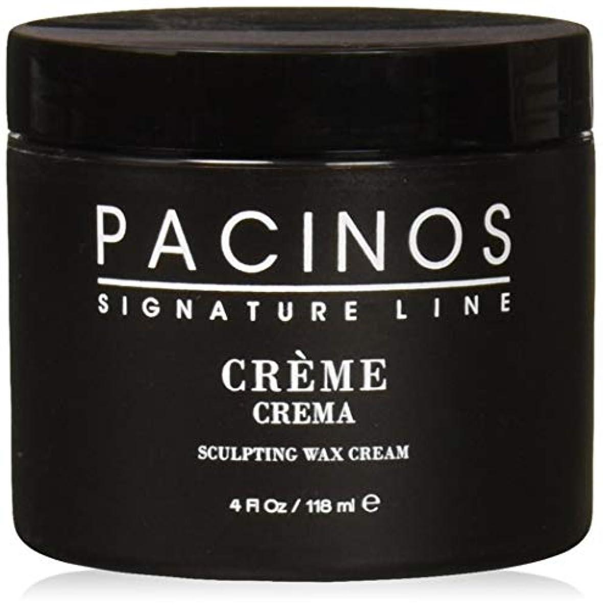 周波数スタック富Pacinos Grooming Elegance Creme, Sculpting Wax Cream 4oz by Pacinos [並行輸入品]