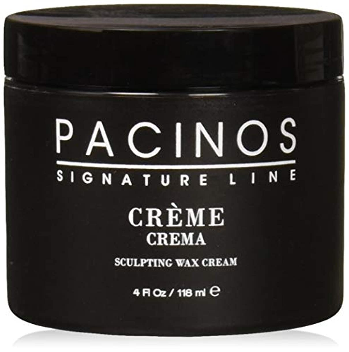 放射能集まるグレーPacinos Grooming Elegance Creme, Sculpting Wax Cream 4oz by Pacinos [並行輸入品]