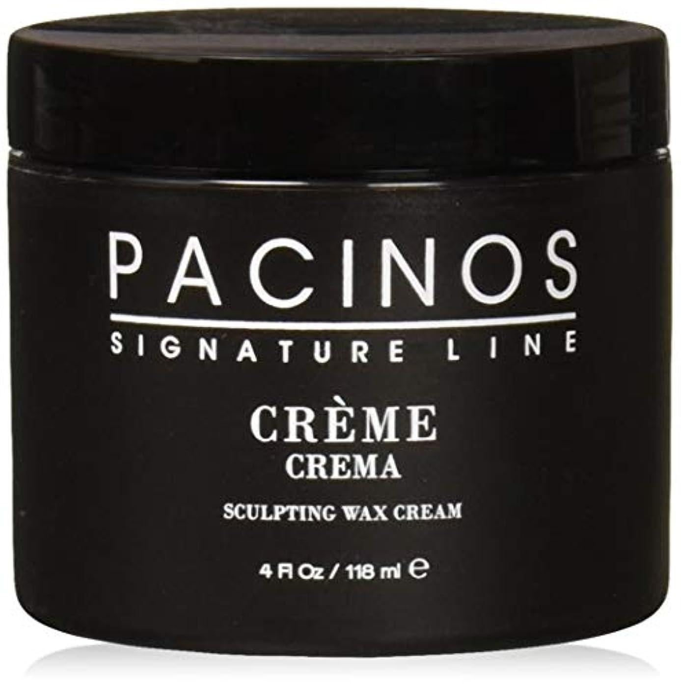 肌寒い群れ群れPacinos Grooming Elegance Creme, Sculpting Wax Cream 4oz by Pacinos [並行輸入品]