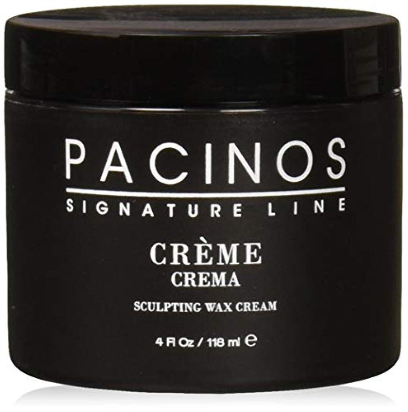 輸送プログレッシブメロディアスPacinos Grooming Elegance Creme, Sculpting Wax Cream 4oz by Pacinos [並行輸入品]