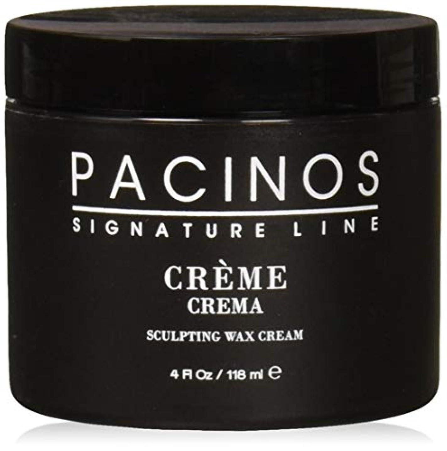 分析的伝染性の偽善Pacinos Grooming Elegance Creme, Sculpting Wax Cream 4oz by Pacinos [並行輸入品]