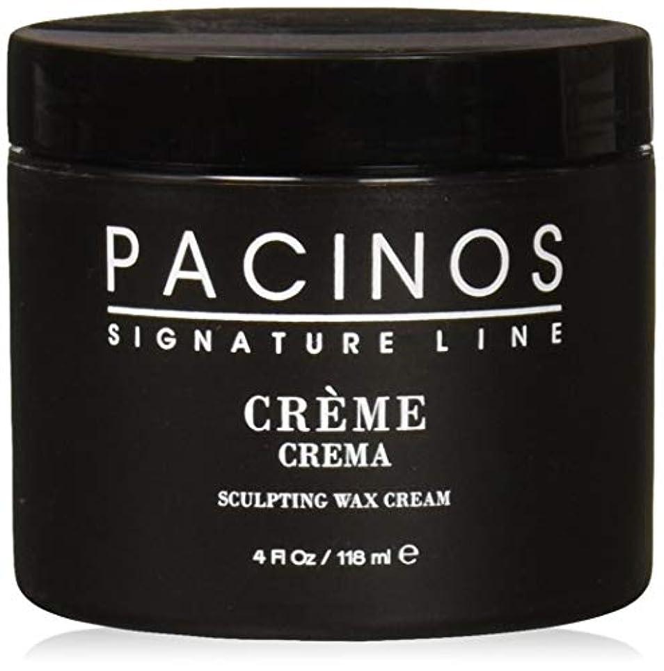 申込み並外れて銀Pacinos Grooming Elegance Creme, Sculpting Wax Cream 4oz by Pacinos [並行輸入品]