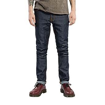 [ヌーディージーンズ] Nudie Jeans メンズ ジーンズ レンディーン LEAN DEAN 498 1119460 DENIM JEANS BLACK DRY 16 DIPS W28 L30 (コード:4090706204-1-2)