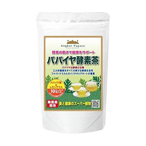 【お徳用 6 セット】 パパイヤ酵素茶 3.5g×10包入り...