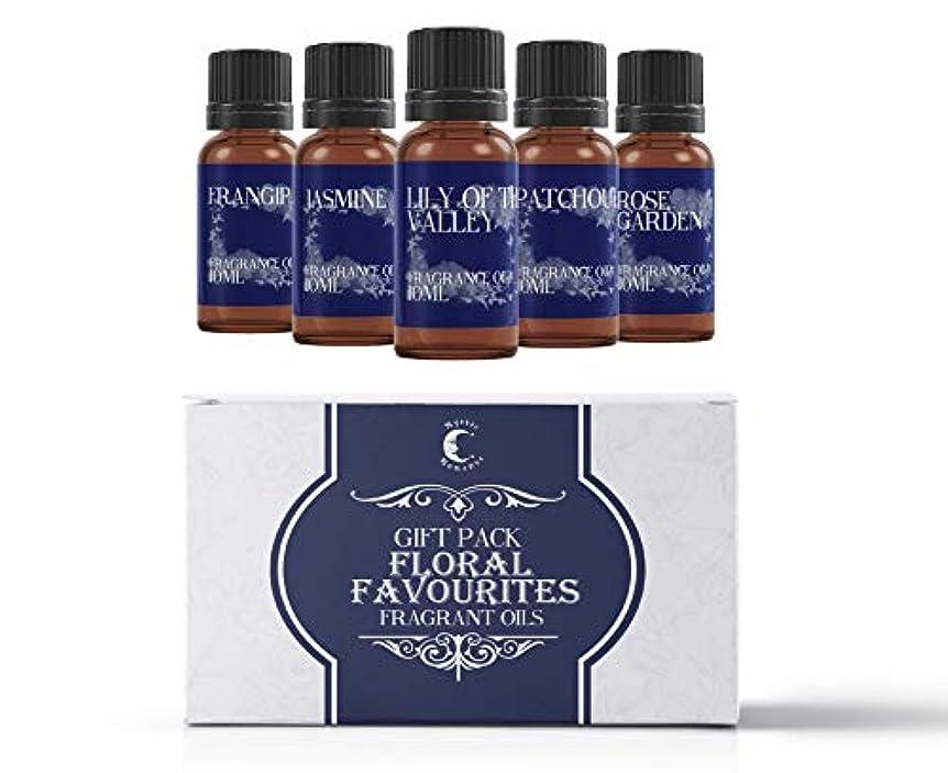 代理店崖手段Mystic Moments | Fragrant Oil Starter Pack - Floral Favourite Oils - 5 x 10ml
