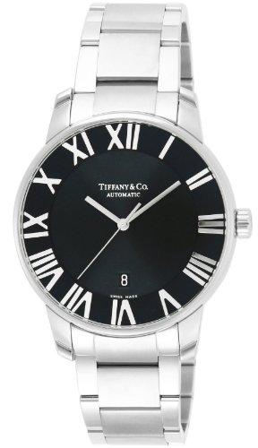 [ティファニー]Tiffany&Co. 腕時計 Atlas Dome ブラック文字盤 自動巻 Z1810.68.10A10A00A メンズ 【並行輸入品】