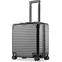 XY Trolley case - PC, TSA Customs Code Lock, Organ Lining, Fashion Business Aluminum Frame Double Lock Universal Machine Chief Flight Attendant Boarding Chassis - 6 Colors Optional Luggage Sets