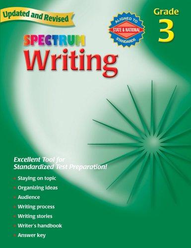 『Spectrum Writing, Grade 3』のトップ画像