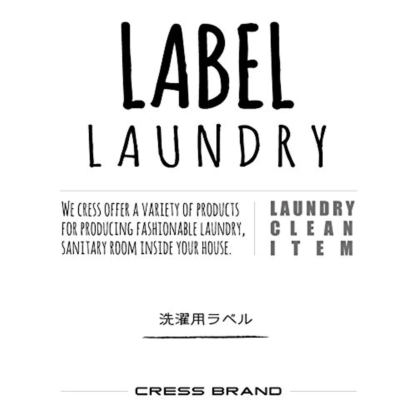 Skinny-Laundry-label 『手書きスキニー調?ランドリーラベル』ラベルのみ