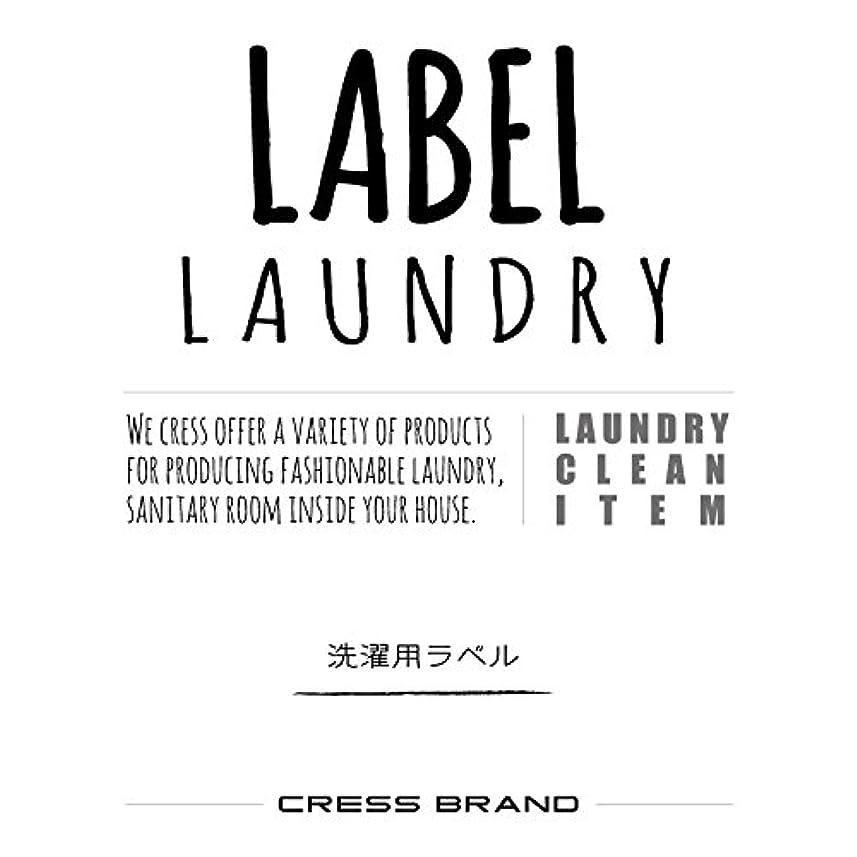 添付拾う輸送Skinny-Laundry-label 『手書きスキニー調?ランドリーラベル』ラベルのみ