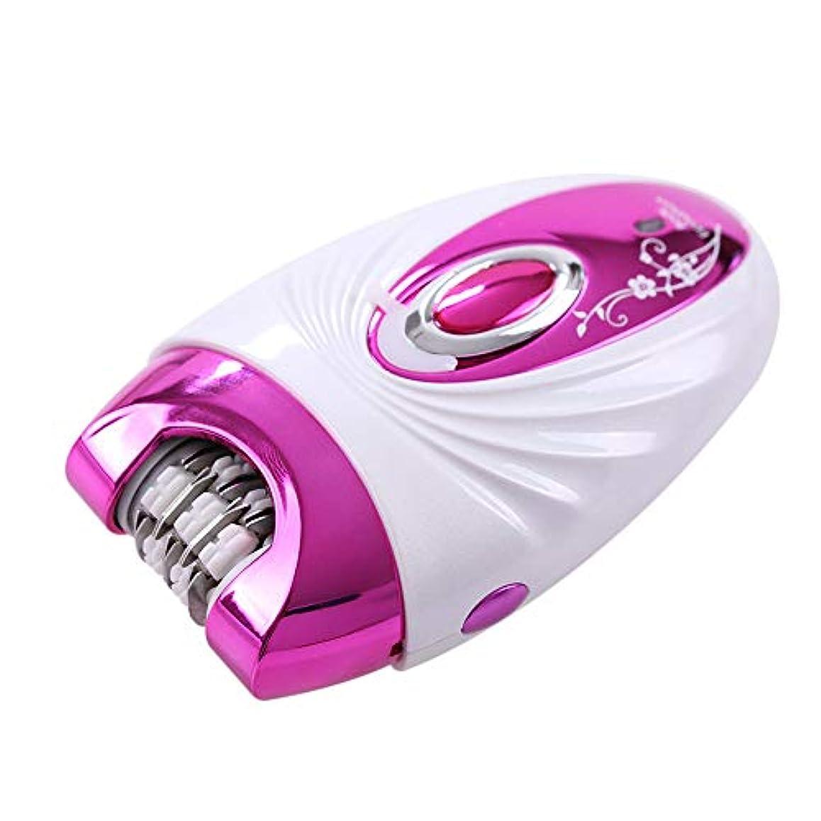 裂け目トライアスロン細断ポータブル脱毛器、摘採装置、3-In-1多機能シェーバー、Abs +合金、エレガントパープルユニセックス、剃毛脚、プライベートパーツ、剃毛