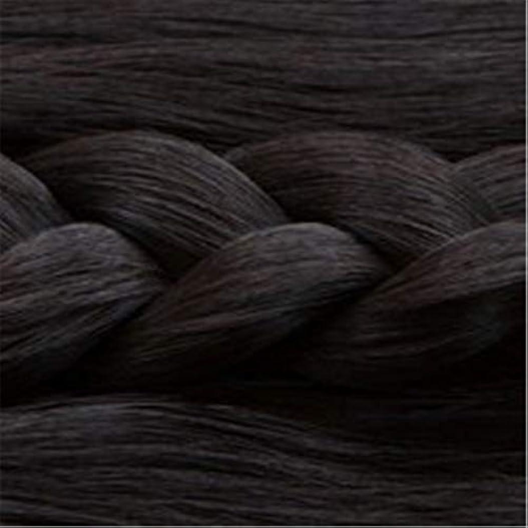 インタフェース本会議製品女性の長いストレートの髪マイクロ梨かつらのセットをWIG,1
