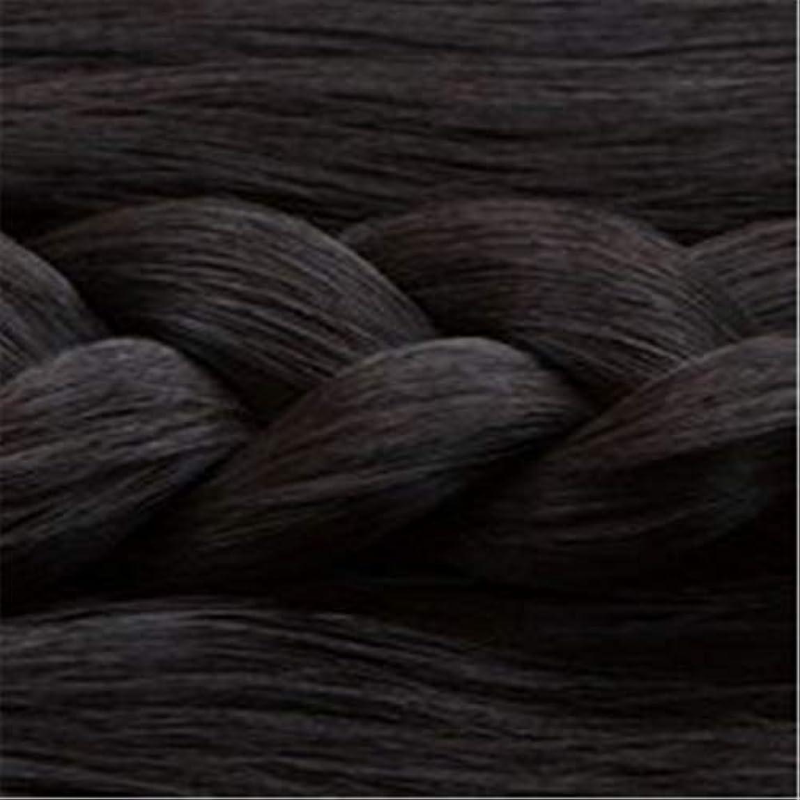 メトリック臭い見えない女性の長いストレートの髪マイクロ梨かつらのセットをWIG,1