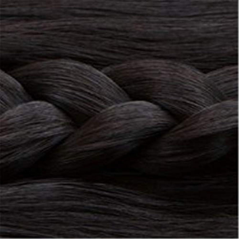 繰り返す公平のヒープ女性の長いストレートの髪マイクロ梨かつらのセットをWIG,1