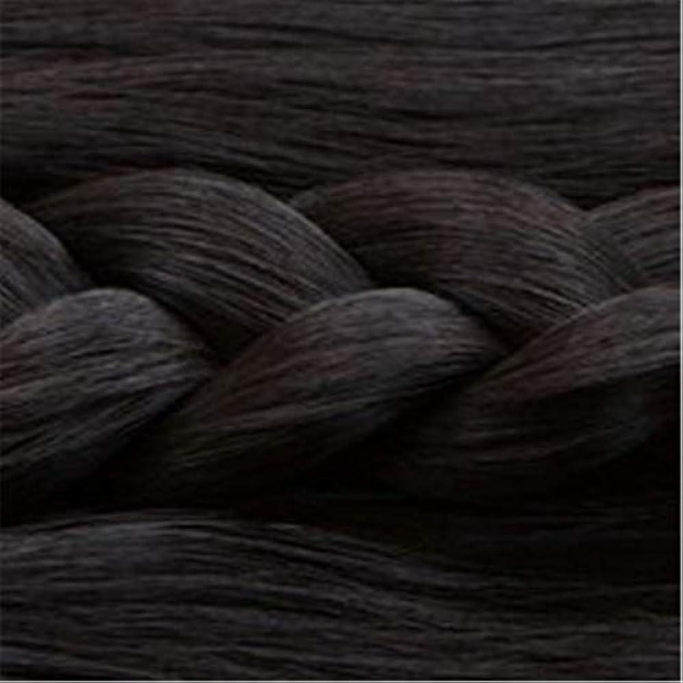 傑作分析する流出女性の長いストレートの髪マイクロ梨かつらのセットをWIG,1
