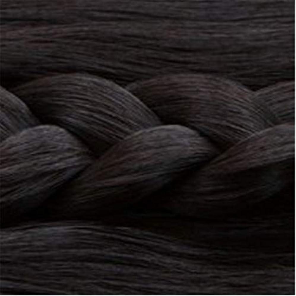 謝る協同ラリーベルモント女性の長いストレートの髪マイクロ梨かつらのセットをWIG,1
