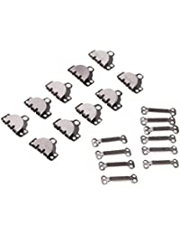 FITYLE 10 Sets Sewing Hooks And Eyes Closure For Trousers Skirts Dress Sewing DIY Craft
