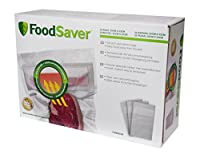 Food Saver fvb003X - 01パックの32の液体専用のバッグ真空のシーリングデバイス、0.95L