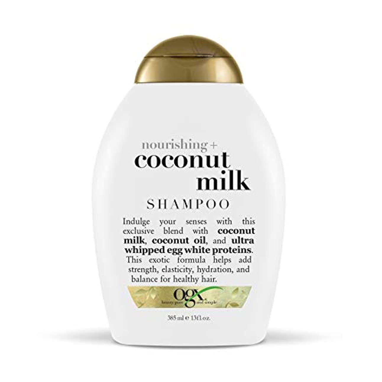ヴォーグ オーガニックス ココナッツミルク シャンプー385ml