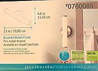 スタイルSelections nukara 1-light 4.5-inつや消しニッケルLED Vanityライト