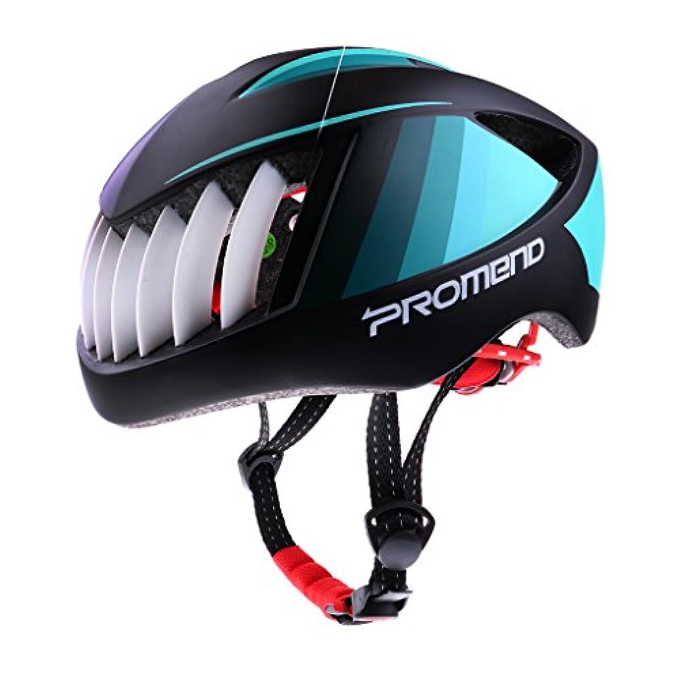 正しく受粉者睡眠Flameer 自転車 ヘルメット サイクリング 超軽量 カッコイイ 一体成形 調節可能 快適 安全