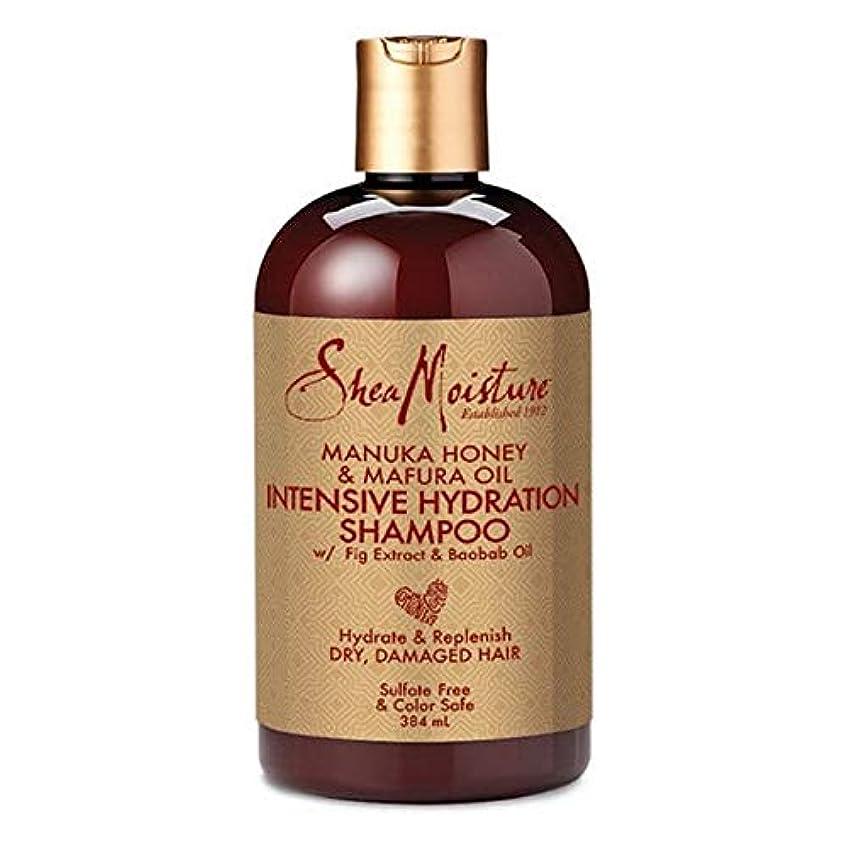 ミュウミュウじゃがいも焼く[Shea Moisture ] シア水分マヌカハニー&Mafuraオイルシャンプー384ミリリットル - Shea Moisture Manuka Honey & Mafura Oil Shampoo 384ml [並行輸入品]
