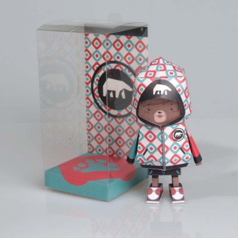 Boogie Hood The Paper Art Toy - BEAR
