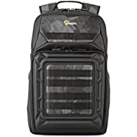 Lowepro Droneguard Bp 250 DJI Mavic Pro Backpack with Impact Protection for Drone Plus Space for Extra Batteries, Transmitter, Laptop, Tablet and More, Black, (LP37099-PWW)
