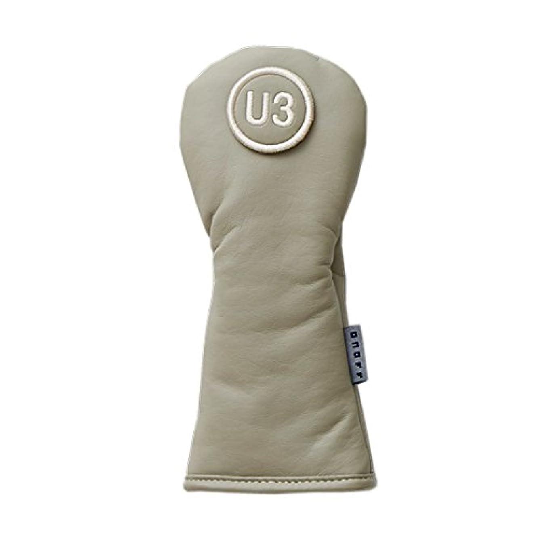 調整する貨物粘土GLOBERIDE(グローブライド) ヘッドカバー ONOFF ヘッドカバー(UT用) メンズ OH1217-55 CBG(UT用) クレイベージュ