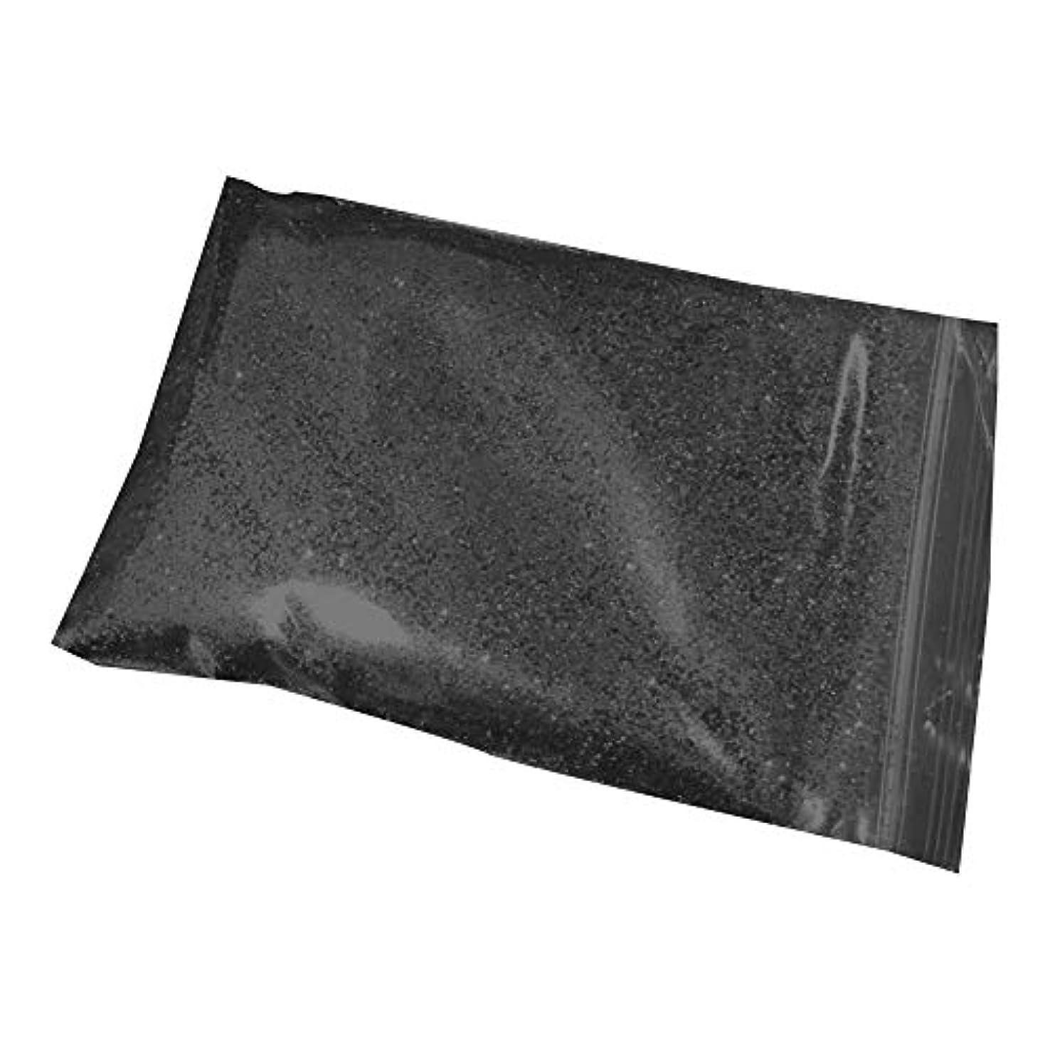 インセンティブメーカーアリーナXFentech グリッターパウダー グリッターラメグリッター 顔/ボディ/ヘア飾り ネイルデコレーション ラメ キラキラ, ブラック, 50g