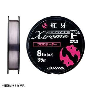 ダイワ(Daiwa) ショックリーダー 紅牙 EX タイプF フロロカーボン 35m 4号 16lb ステルスピンク 69700