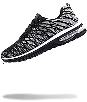 [50dB] エアライト レディース スニーカー 軽量 運動靴 くつ シューズ ジム トレーニング ダンス 体育館 フィットネス (グレー 23.5cm)