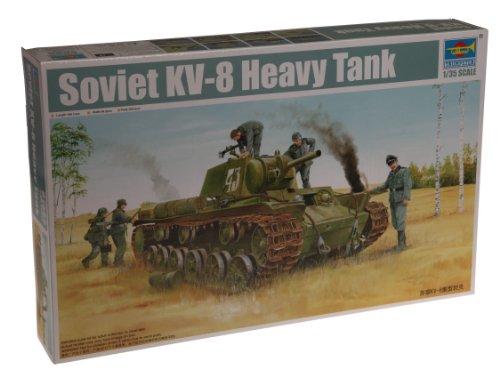 1/35 ソビエト軍 KV-8 重戦車