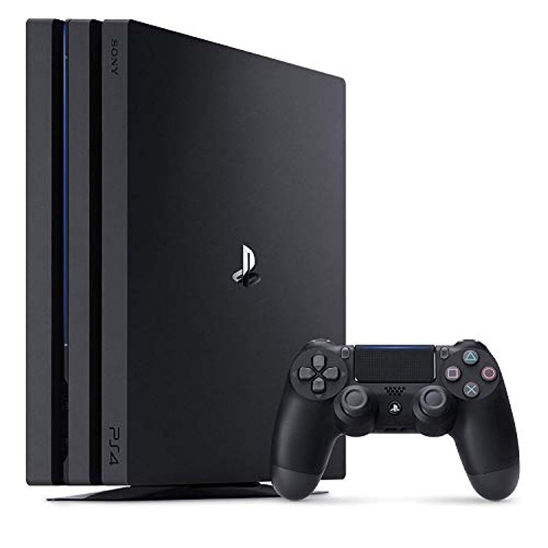 カジュアル失われた蓋PlayStation 4 Pro ジェット?ブラック 1TB( CUH-7100BB01) 【メーカー生産終了】