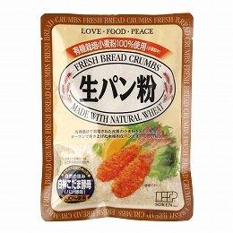 創健社 有機栽培小麦粉100%使用 生パン粉 120g×24個     JAN:4901735014569
