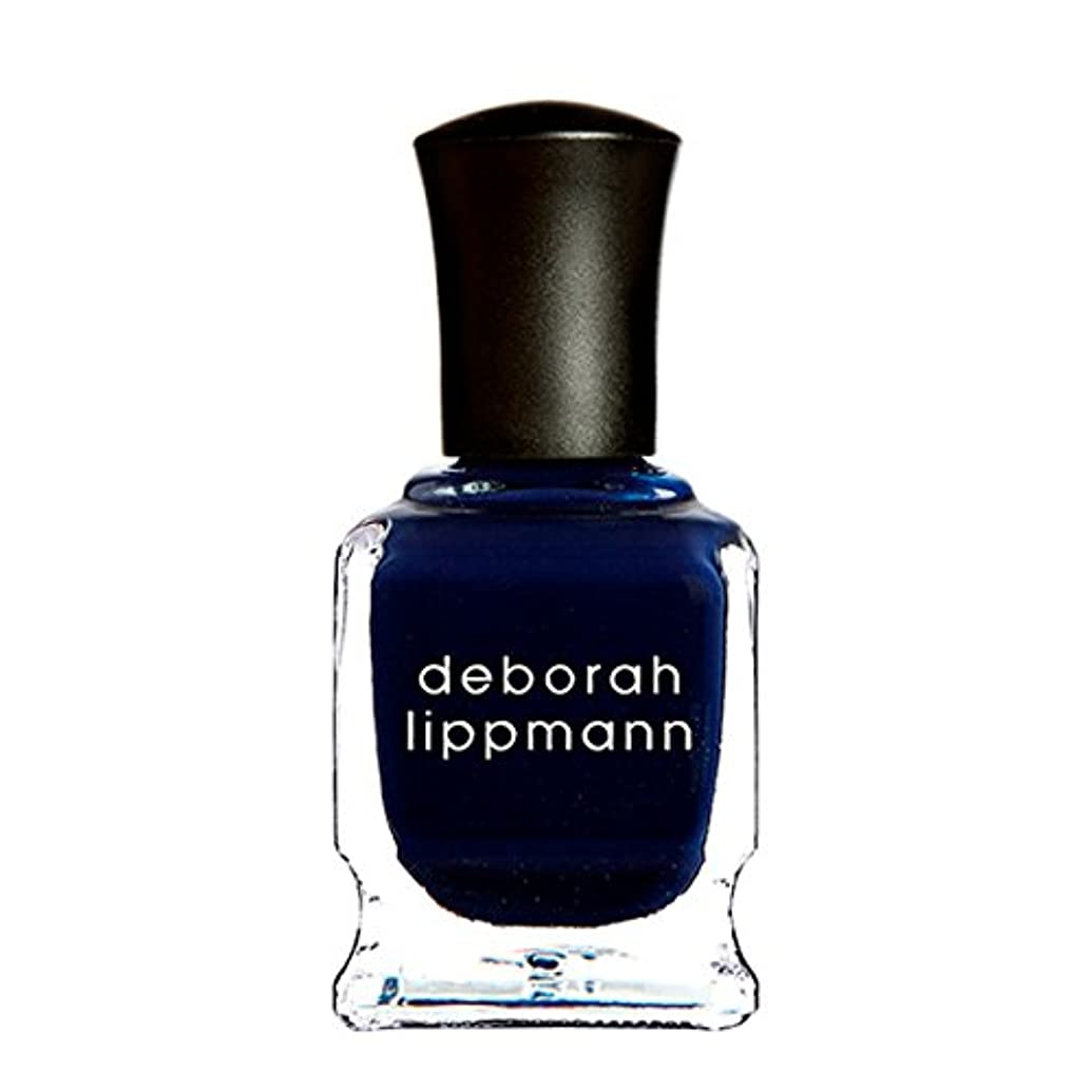 日記財団会計士[Deborah Lippmann] [ デボラリップマン] ローリングインザディープ (Rolling in the Deep) 色:ミッドナイトブルー ネイルカラー系統:ブルー 15mL