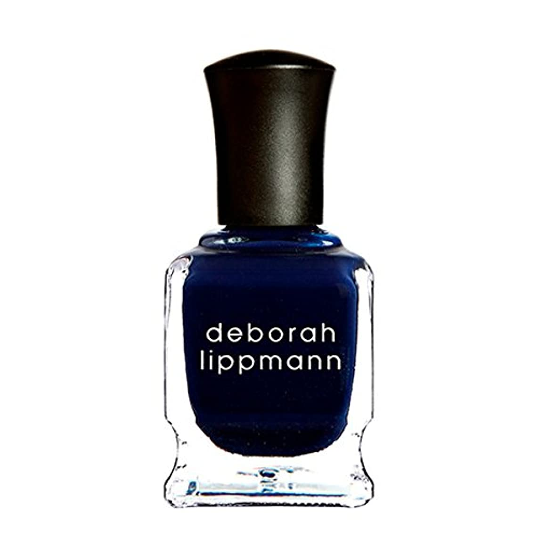 バズ宿題をする読みやすさ[Deborah Lippmann] [ デボラリップマン] ローリングインザディープ (Rolling in the Deep) 色:ミッドナイトブルー ネイルカラー系統:ブルー 15mL