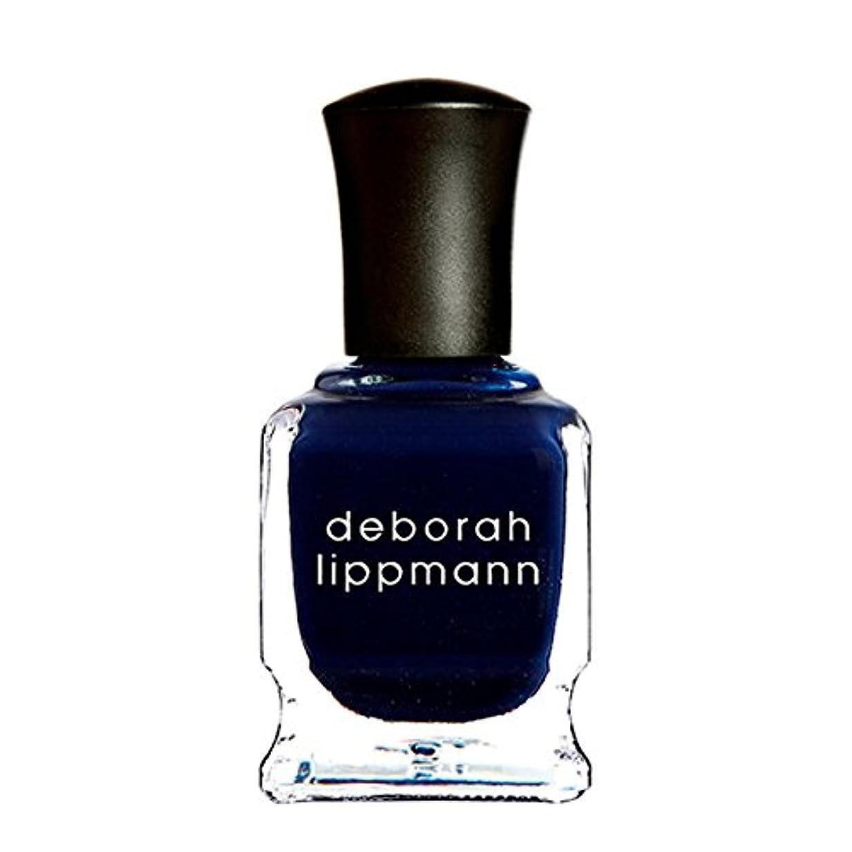 無謀馬鹿げた領収書[Deborah Lippmann] [ デボラリップマン] ローリングインザディープ (Rolling in the Deep) 色:ミッドナイトブルー ネイルカラー系統:ブルー 15mL