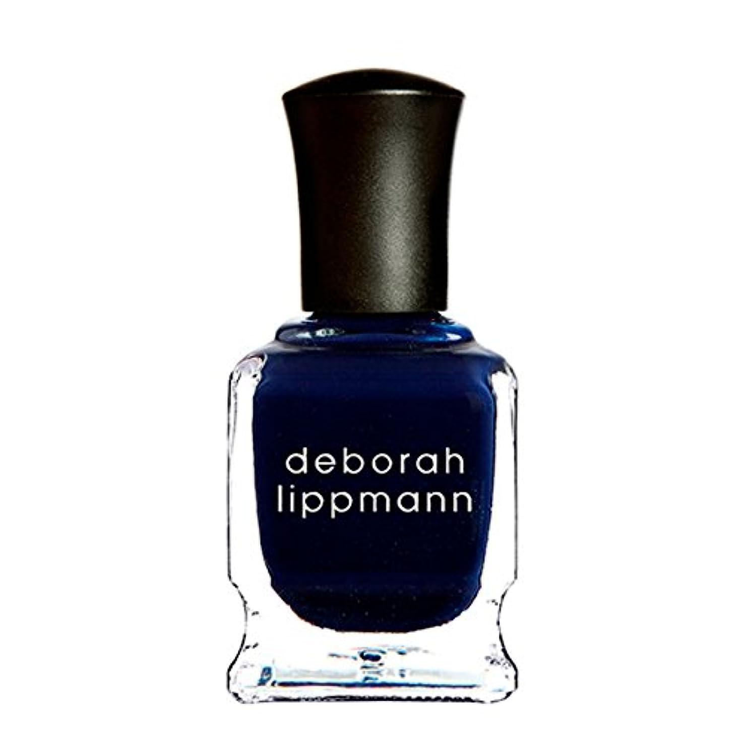 欠乏窓を洗う手当[Deborah Lippmann] [ デボラリップマン] ローリングインザディープ (Rolling in the Deep) 色:ミッドナイトブルー ネイルカラー系統:ブルー 15mL