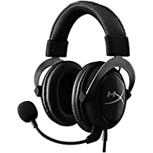 Kingston HyperX Cloud II Gaming Headset for PC and PS4 - Gun Metal (KHX-HSCP-GM)