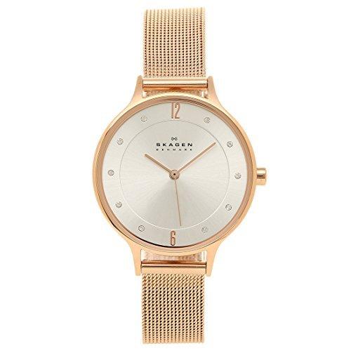 スカーゲン SKAGEN 腕時計 時計 SKW2151 MESH ステンレスメッシュ ウォッチ ローズゴールド [並行輸入品]