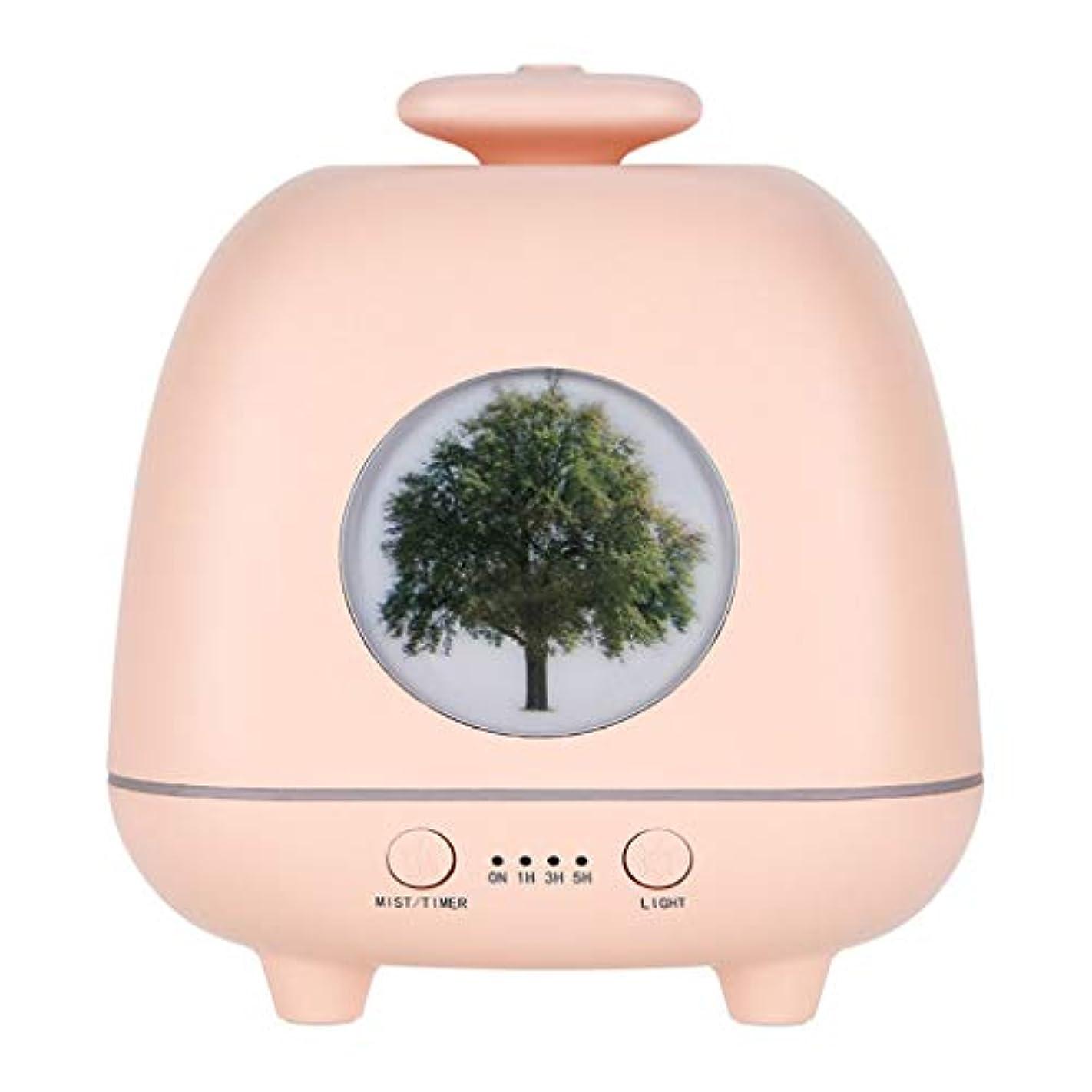 病んでいる放射能にはまってアロマテラピー機、エッセンシャルオイルディフューザー自動エアロゾルディスペンサー香カラフルな香りランプ加湿器 (色 : A)