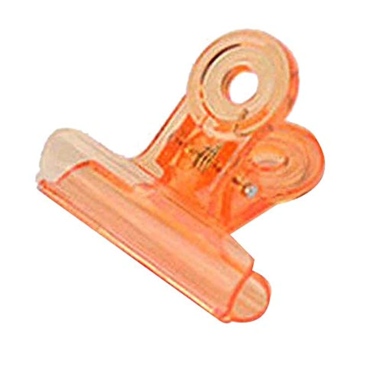 部屋を掃除する情熱背骨CUHAWUDBA カーブネイルピンチクリップツール多機能プラスチック爪 ランダムカラー(オレンジ)