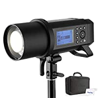 GODOX AD400Pro 400W TTLフラッシュ 2.4G GN72 高速同期 1/8000s リチウムイオン電池付き オールインワン屋外フラッシュストロボライト 30W LEDモデリングランプ Canon Nikon SONY FUJIFILM OLYMPUS Panasonicと互換性があります