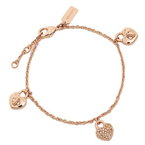 [해외]코치 팔찌 액세서리 아울렛 COACH F17113 RGD 여성 팔찌 로즈 골드 [병행 수입품]/Coach bracelet accessory outlet COACH F17113 RGD Ladies` bangle rose gold [Parallel import goods]